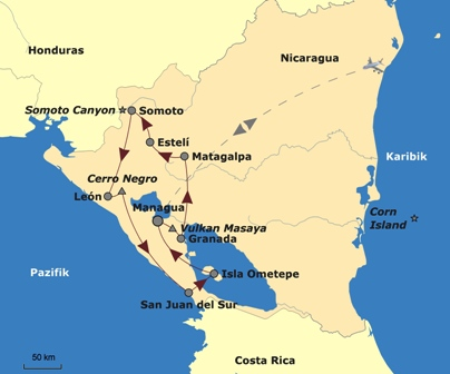 nicaragua_Route