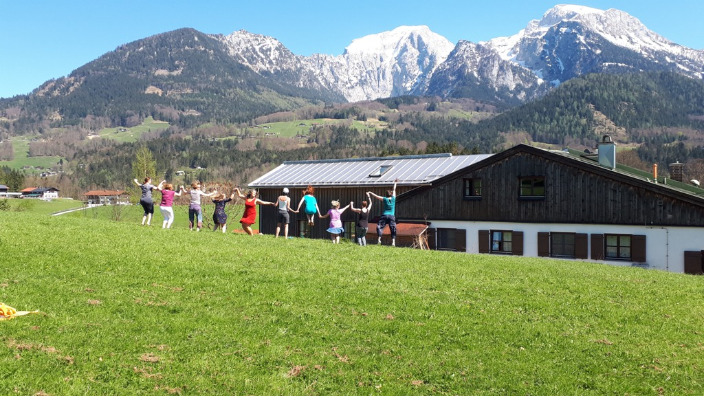 Bayern am Königssee, Yogareise Deutschland,