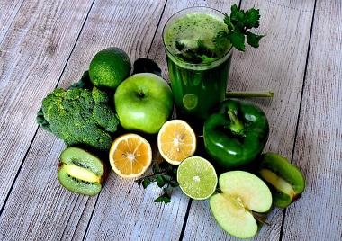 Entgiften, grüne Monodiät
