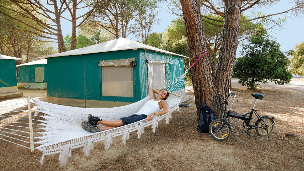 Korsika_Zelt