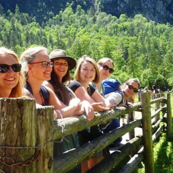 Kundalini Yoga in Bayern für Frauen Königssee, Wanderung zum Obersee, Fahrt mit dem Schiff bis Salet