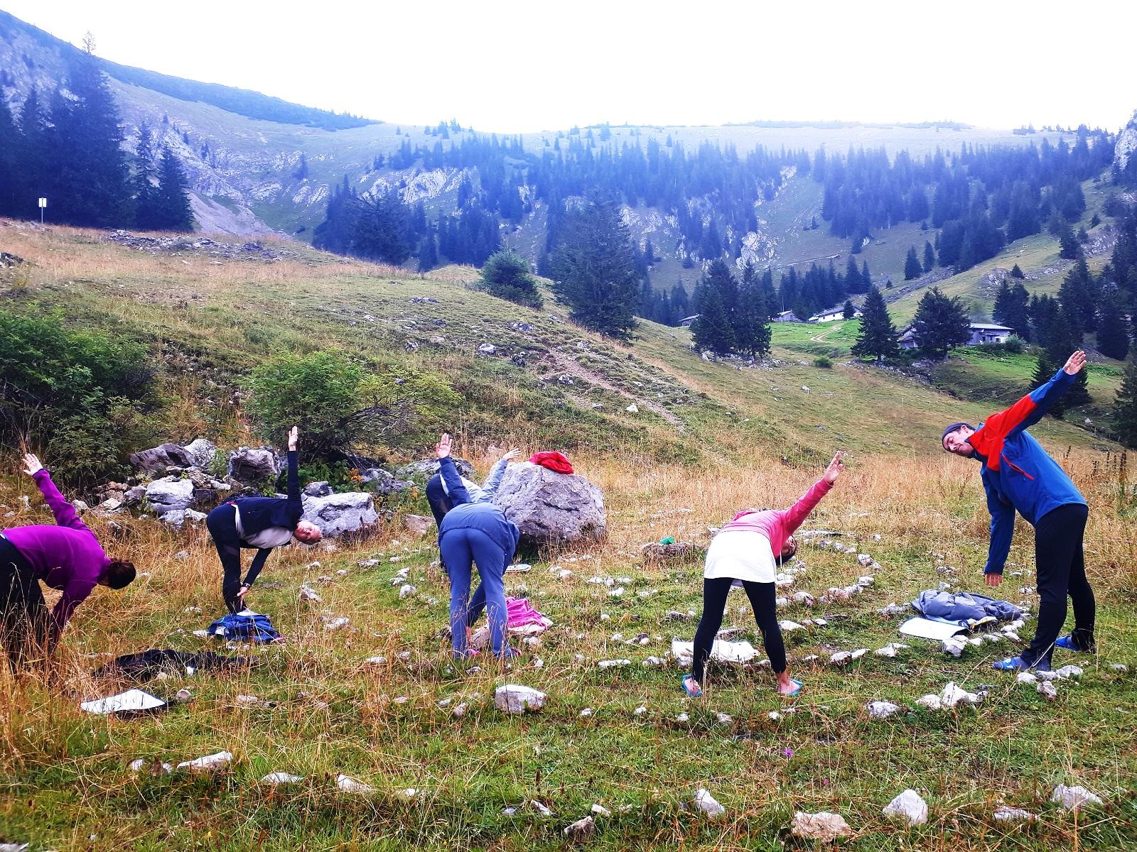Wandern und Yoga, Spiritwanderung,