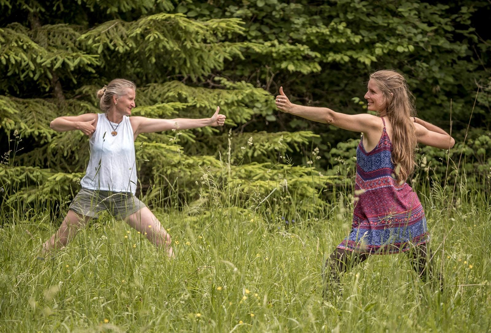 Detox Yoga Retreat in Bayern, Basenfasten und entschlacken, spazieren gehen, frische Luft tanken und erholen.